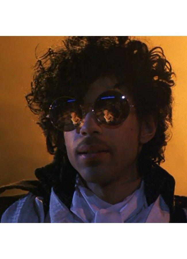 07386a3e78 Prince Purple Rain Round Sunglasses