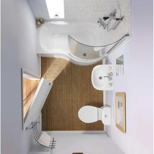 11 Excelentes ideas para un cuarto de baño pequeño | Mini casas ...