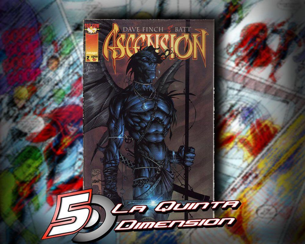 ASCENSION # 2  DE DAVID FINCH, EXCELENTE ARTE. $ 50.00 Para más información, contáctanos en http://www.facebook.com/la5aDimension