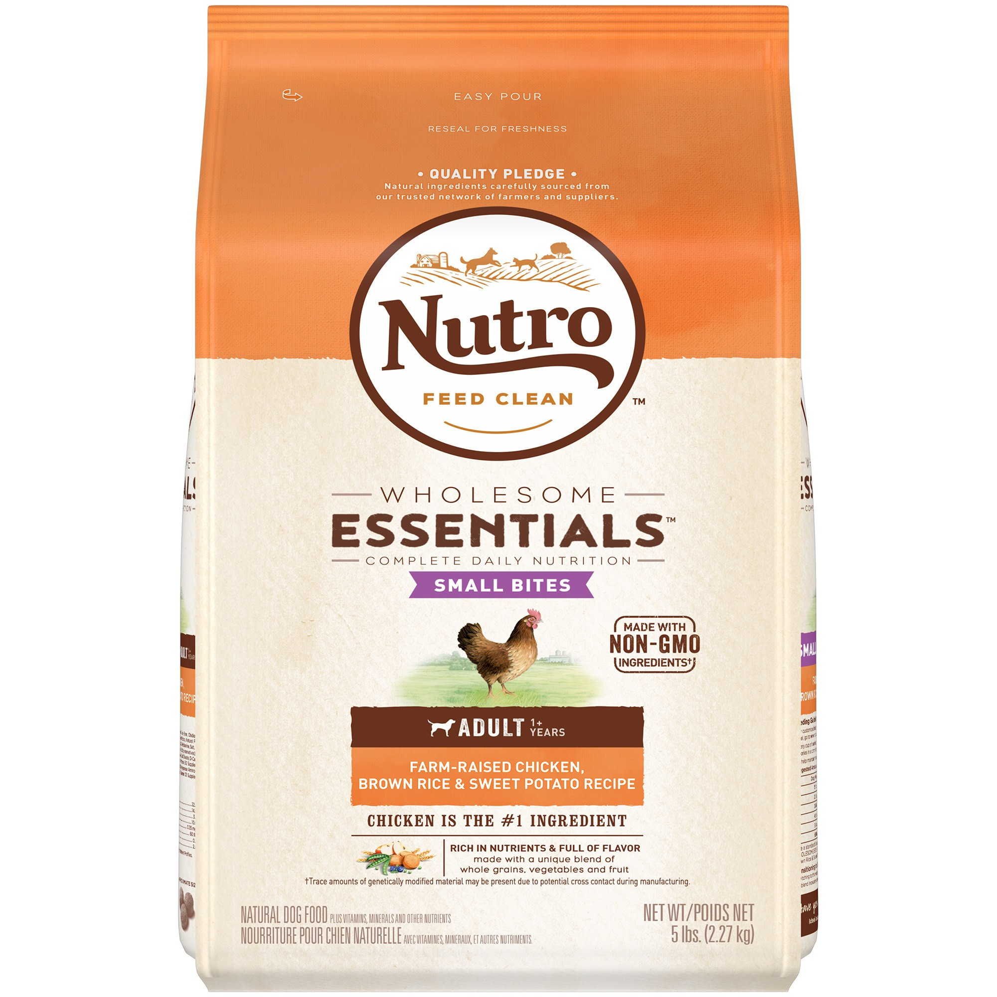 Nutro wholesome essentials small bites chicken rice dry dog food nutro wholesome essentials small bites chicken rice dry dog food 5lb forumfinder Choice Image