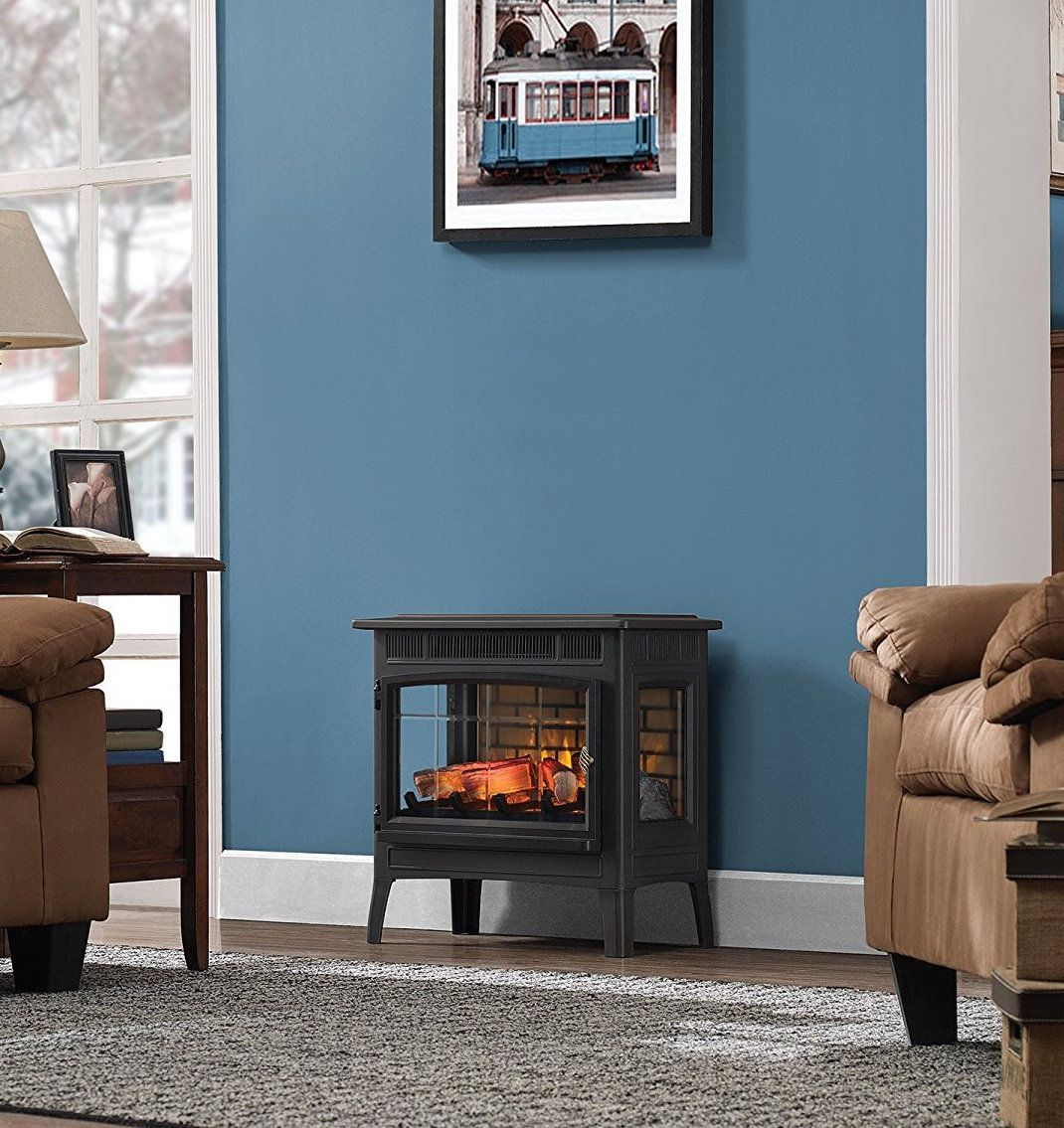 Duraflame Dfi 5010 01 Infrared Quartz Fireplace Stove With 3d