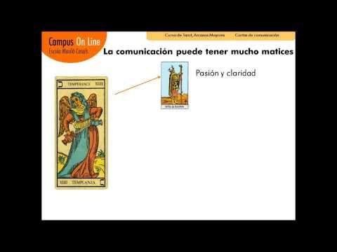 Aprender tarot. Las cartas de comunicación del Tarot - Curso de Tarot Online - YouTube