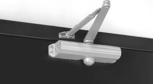Norton 1605bc 1600 Series Drop Plate Door Opener For Power Sizing Value Of Ansi Aluminum Door Closer Surface Mount Non Adjustable Brass Door