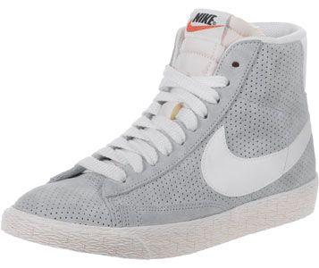 Nike Blazer Mid Suede Vintage W Schuhe grau auf Stylelounge.de