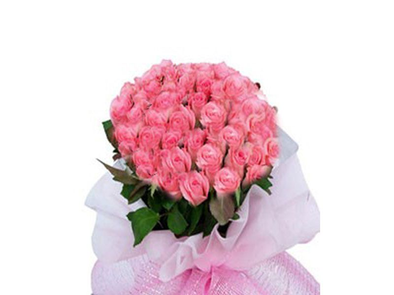 Bunch Of 30 Pink Roses Online Flower Shop Online Florist Online Flower Delivery