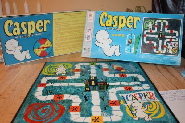 Vintage Casper the Friendly Ghost board game, 1959  I had