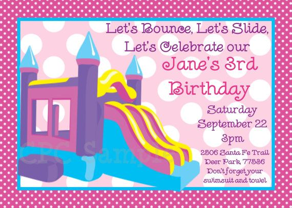 This Item Is Unavailable Bounce House Birthday Party Bounce House Birthday Printable Birthday Invitations