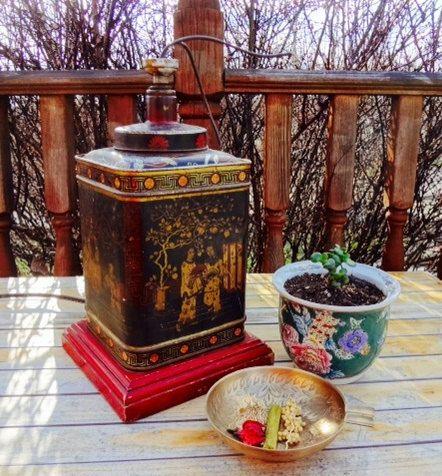 "Vintage Oriental Asian Style ""Frederick Cooper ..."