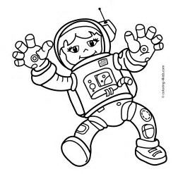 Image Result For Female Astronaut Coloring Girl Scouts Pinterest