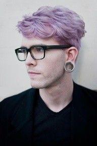 Purple Hair Color For Men Hair Colors Ideas Men Hair Color Mens Hair Colour Hair Color Purple