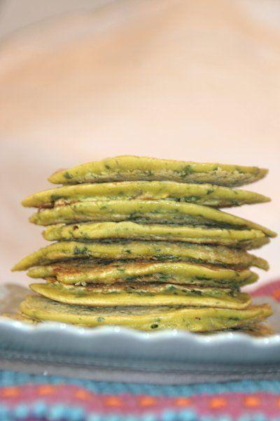 Garbanzo Pancakes