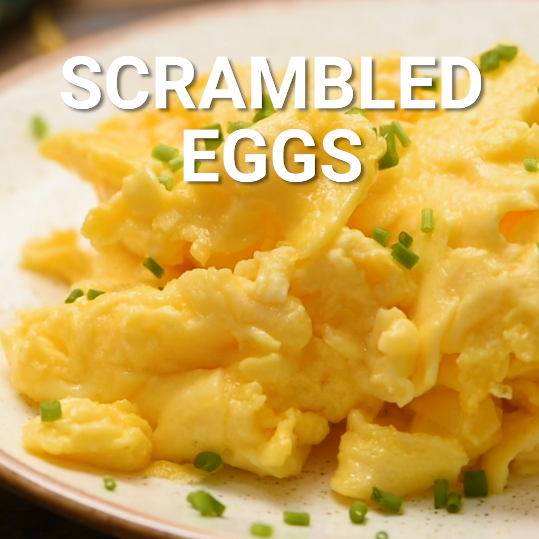 Photo of THE BEST SCRAMBLED EGGS!