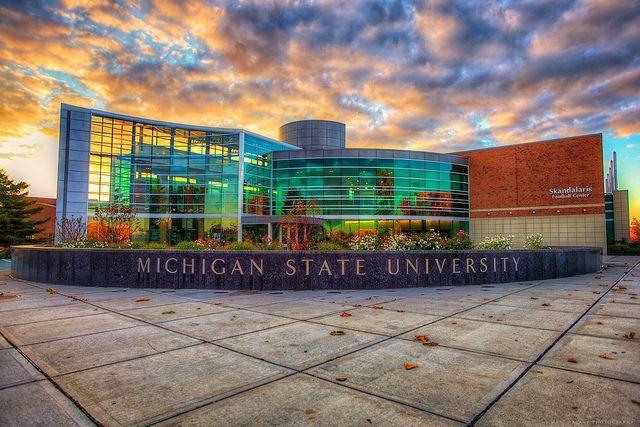 East Lansing Mi Michigan State University Skandalaris Football Center Michigan State University Michigan State University Campus Lansing Michigan