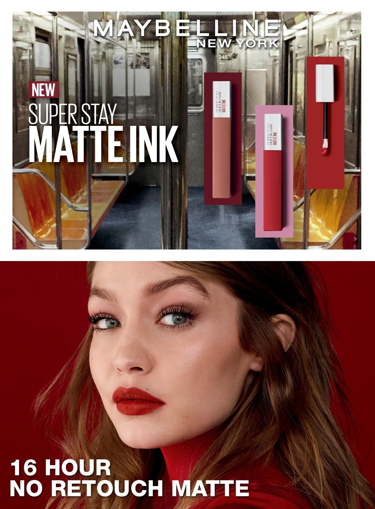 Maybelline SuperStay Matte Ink Collection Liquid Lipstick