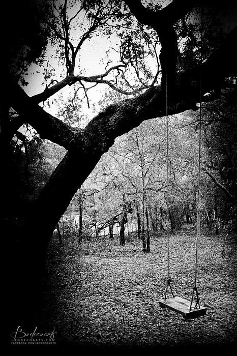 Lonely Black And White lonely swing in...
