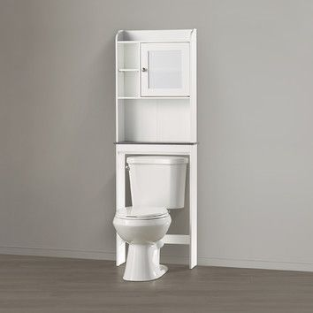 cubby hole storage with adjustable shelves space saving design fits over toilet product type over the toilet