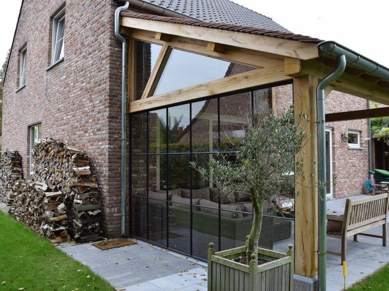 überdachte Terrasse Kuurne / Erweiterung, # Bau #Kuurne # überdachte # Terrasse #wintergartenbeschattu …   – Winter Garten