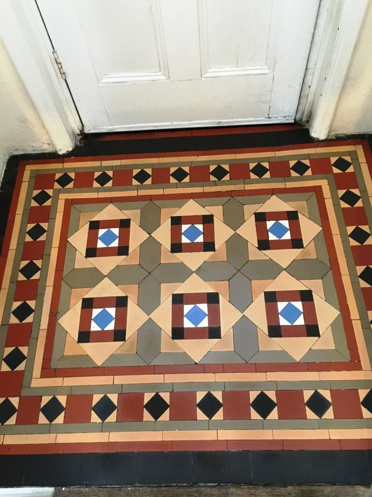 Victorian tiled floor in vestibule victorian edwardian tiled victorian tiled floor in vestibule dailygadgetfo Image collections