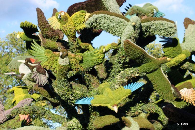 Mosaïcultures And Gardens Of Light At The Montréal Botanical Garden
