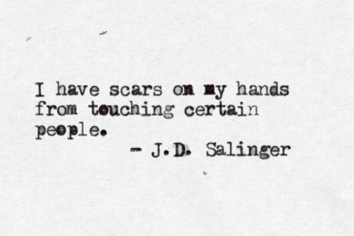 Cicatrices.