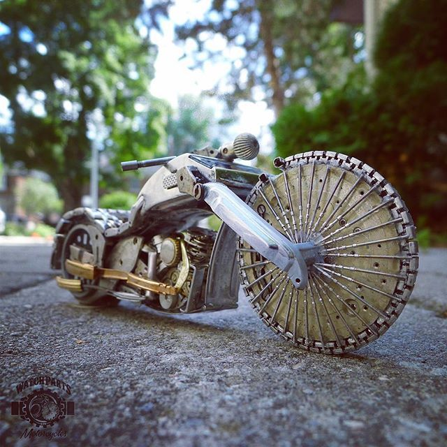Watch Parts Motorcycles by Dan Tanenbaum 154