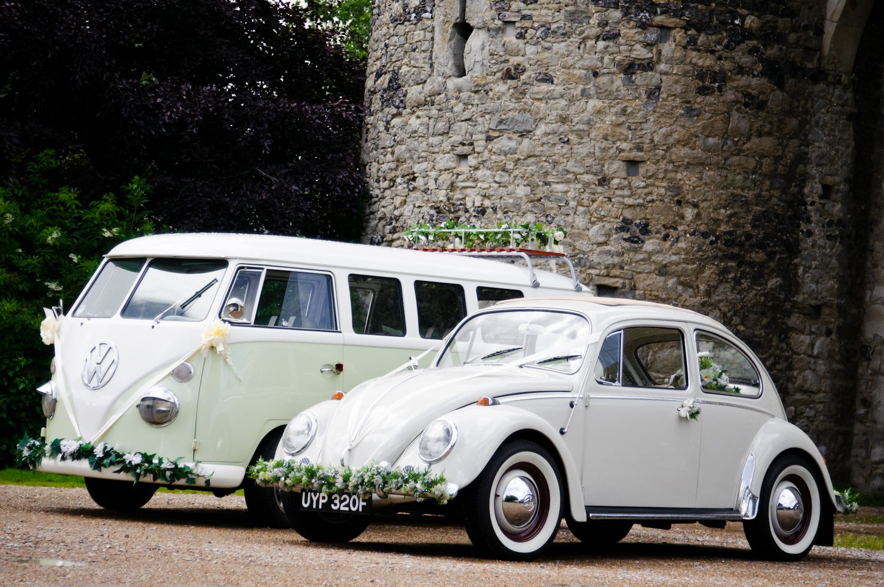 VW Volkswagen wedding Beetle car hire | vintage wedding transport ...