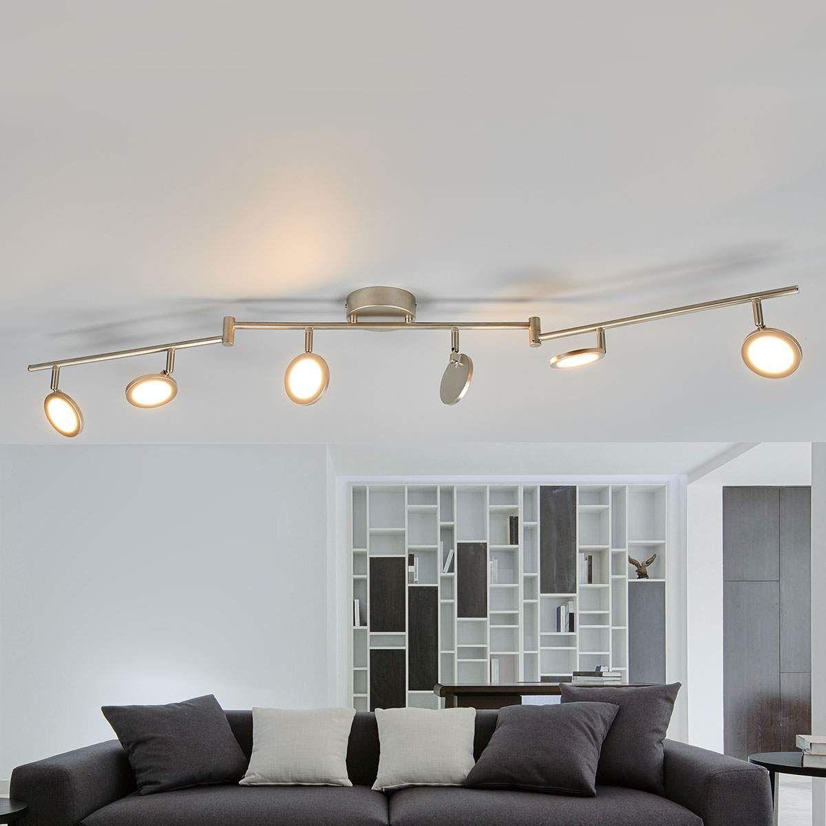 6-flammige LED-Deckenleuchte Helina Jetzt bestellen unter: https