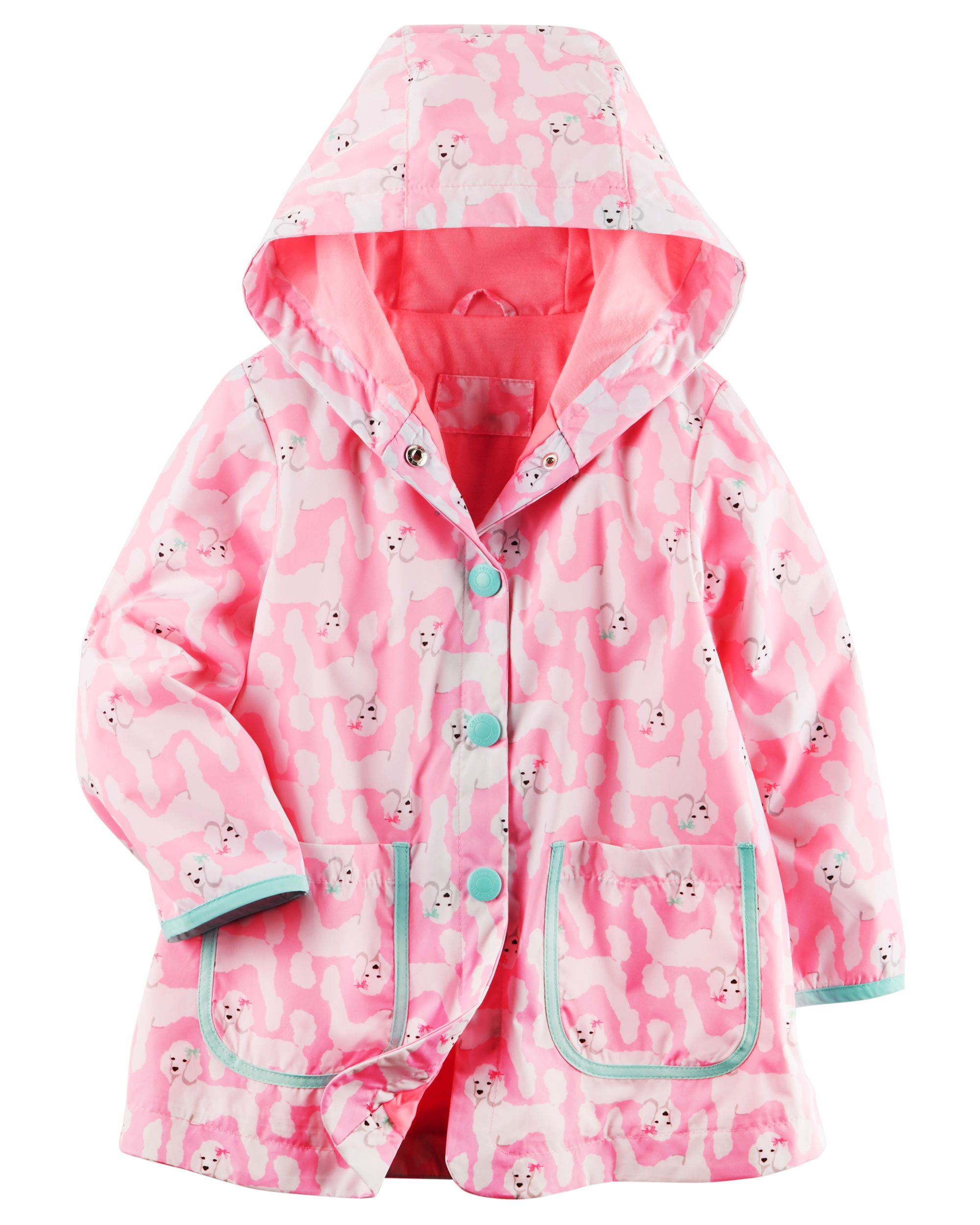 911c1b5bd7227 Poodle Raincoat | Children's Clothes | Baby girl jackets, Carters ...