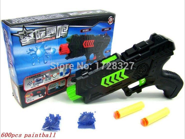 Paintball crystals Gun Pistol & Soft Bullet Gun Plastic Toys CS Game  Shooting Water Crystal Gun