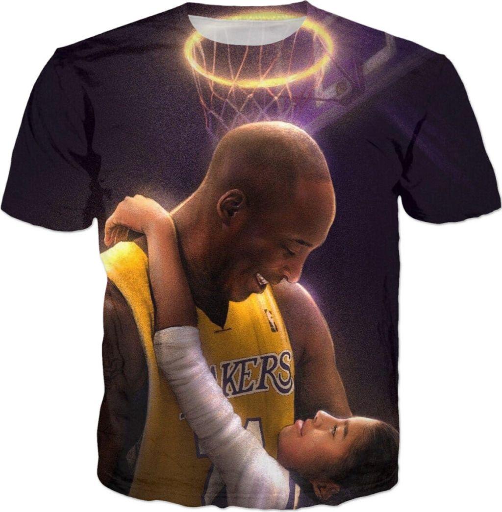 RIP Kobe & Gigi Bryant Tribute Tee - Mamba Out in 2020 ...