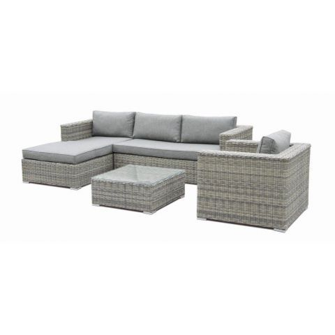 Suntime Sandringham L Shape Sofa Set – The UK\'s No. 1 Garden ...