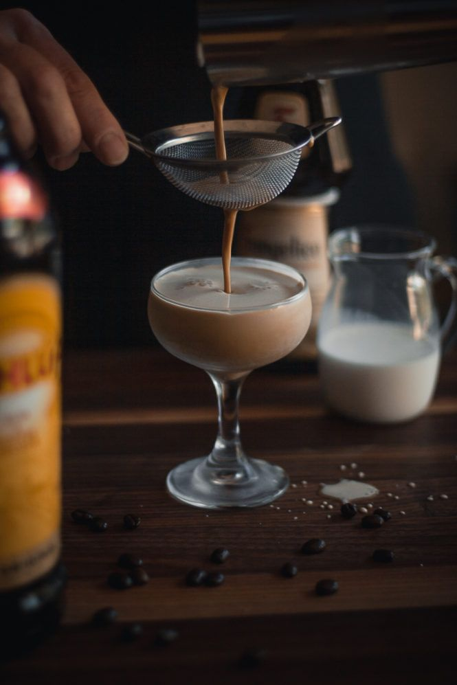 Insominiac Cocktail Recipe - A Creamy Coffee Dessert Drink
