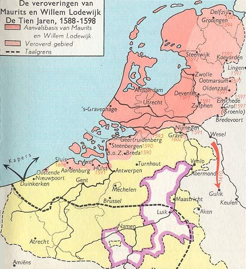 Old Vintage Map Of Holland In 1950 Colorful Dutch Retro Poster