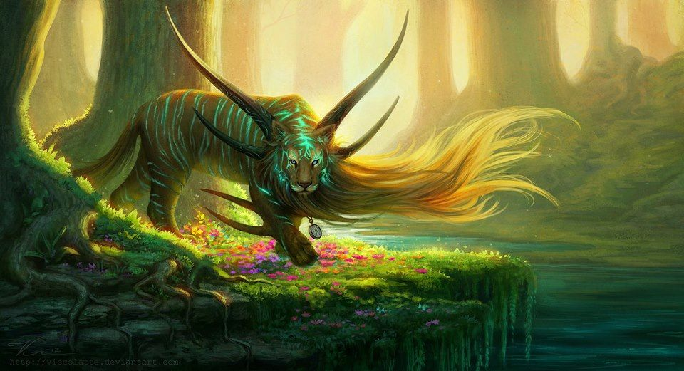 Magical Creatures The Other Place Pinterest