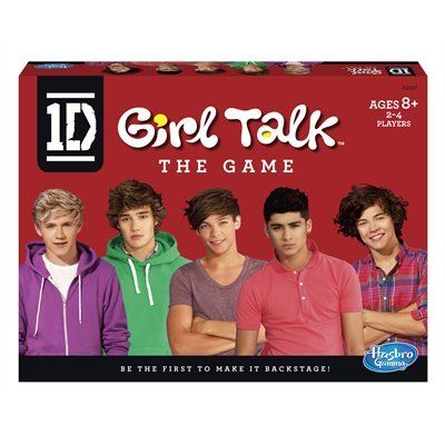 1D One Direction Girl Talk Game, $21.95