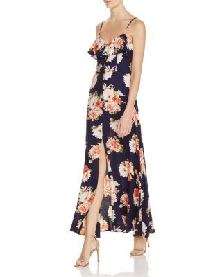 fae030f16470 Band of Gypsies Floral Flounce Maxi Dress | bloomingdales.com ...