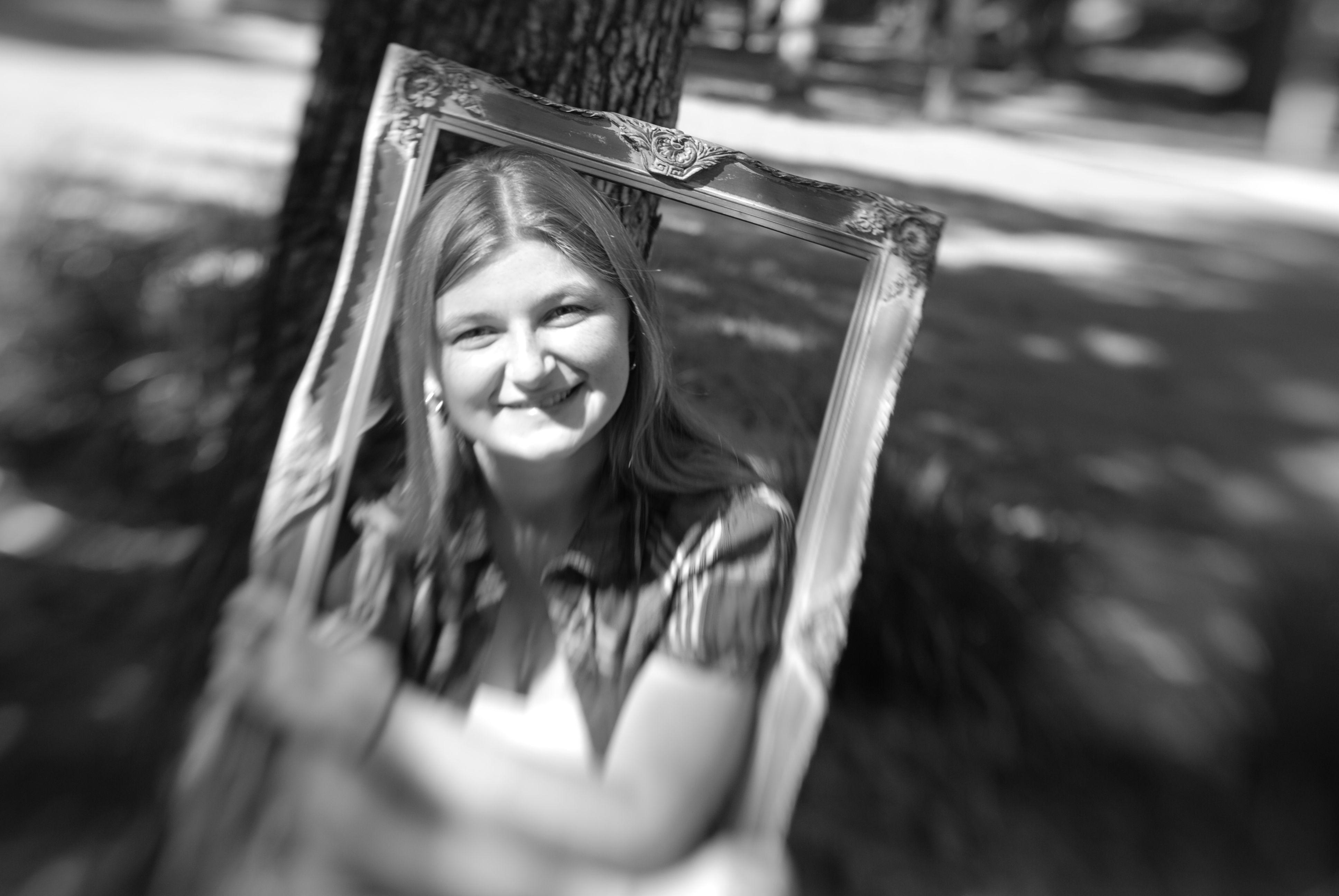 Senior Portrait #seeinanewway #Lensbaby