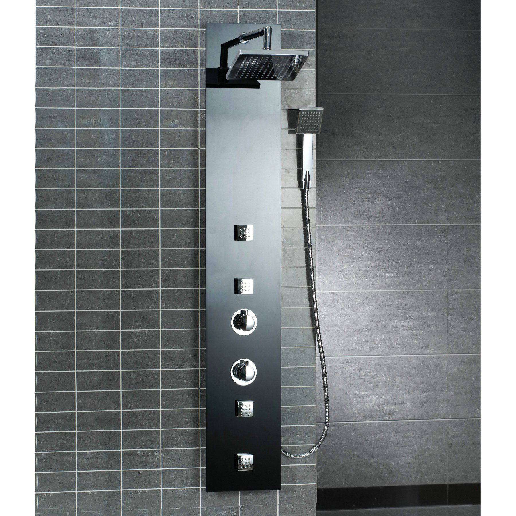 OVE Decors OSC-16 Multi Jet Shower Panel - OSC-16 SHOWER TOWER ...