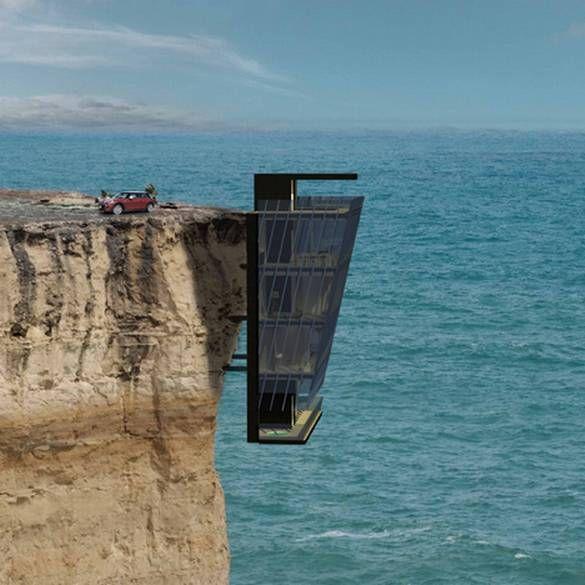 opa Cliffside house - Buscar con Google