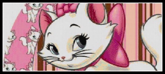 Cross stitch pattern custom made for you Beautiful Marie.  PLEASE READ CAREFULLY BEFORE YOU BUY!  Computer Generated Pattern! Digital computer model - not printed on paper. This is a pattern only! Not a kit or finished piece! No fabric or floss are included in this listing!  This is NOT a finished cross stitch. The pattern includes a color legend for DMC pearl cotton. This pattern arrives as an Instant Download! A few minutes after your payment is processed, youll receive a separate email…