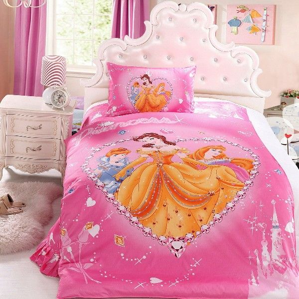 Girls Bedding 30 Princess And Fairytale Inspired Sheets Princess Bedroom Set Disney Princess Bedding Princess Bedding Set