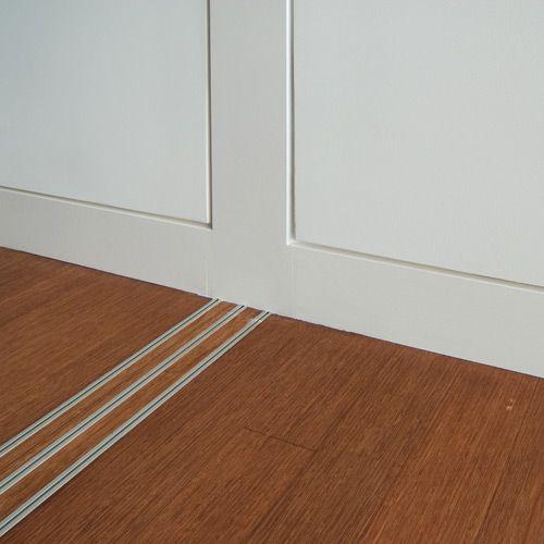 3 modern base details interior sliding doors sliding for Contemporary baseboard profiles