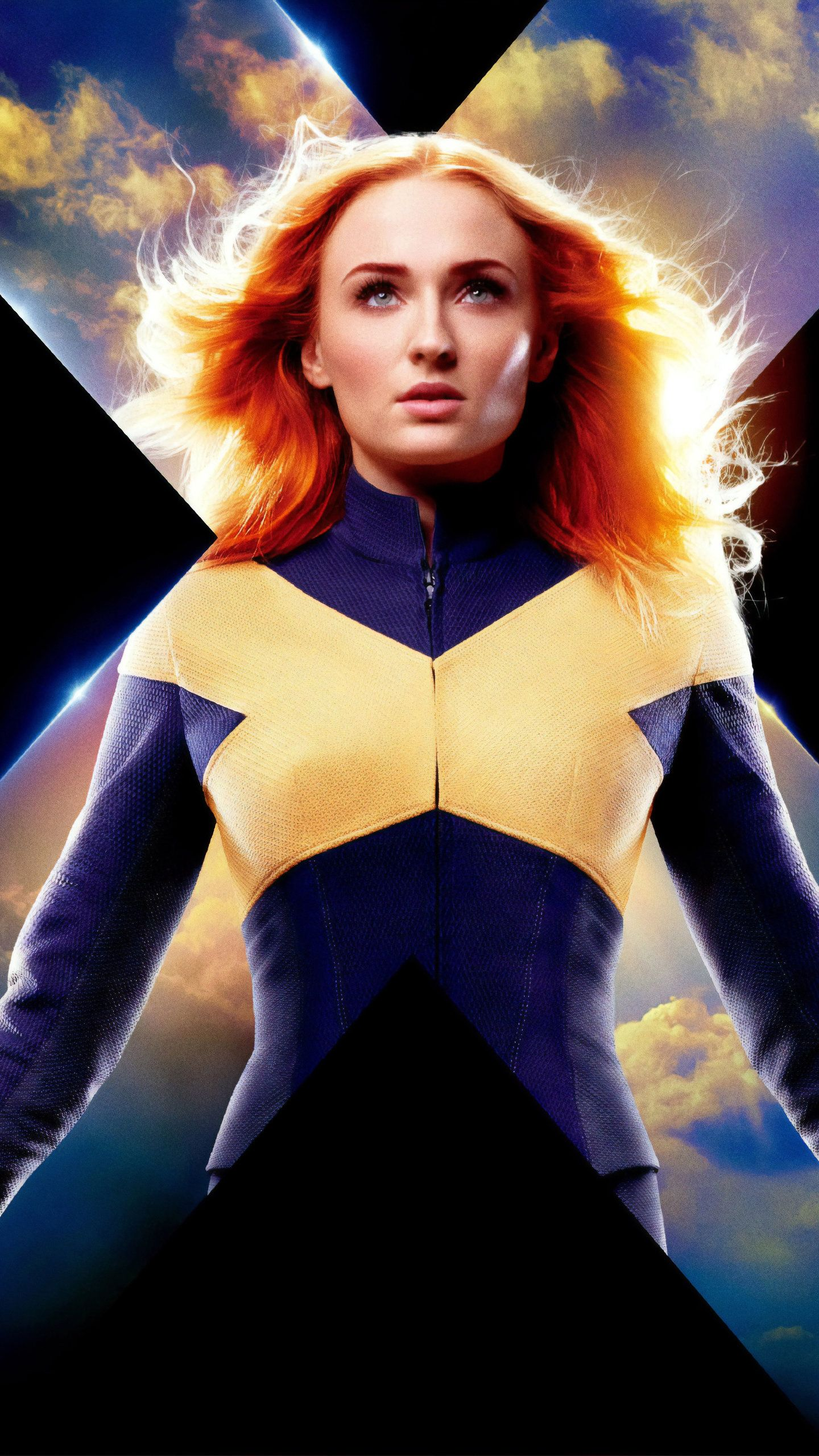 Jean Grey X Men Dark Phoenix Poster Hd Movies Wallpapers Photos And Pictures Hombres X Peliculas Completas Michael Fassbender