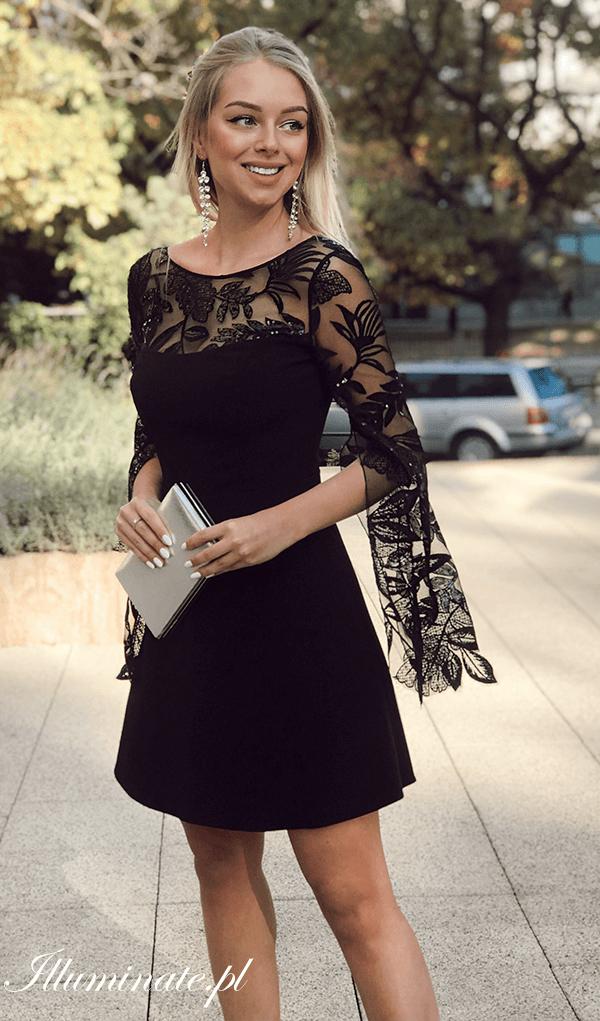 fdb6b669127 Czarna sukienka EMILY <3 Tylko na illuminate.pl #sukienka #czarnasukienka  #wieczorowasukienka #wieczór #piękna