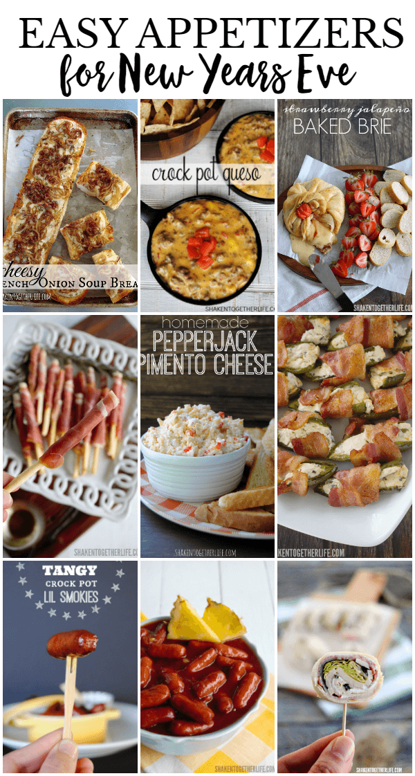 Most Popular Appetizers for New Years Eve