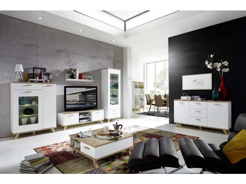 Mat witte meubels met houten accenten, een harmonische combinatie ...