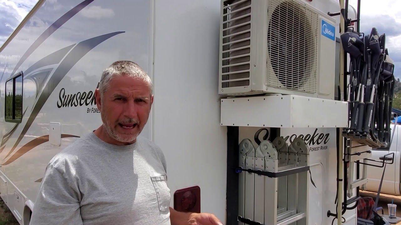 001 Solar Mini Split Air Conditioner Runs 24/7/365 Day