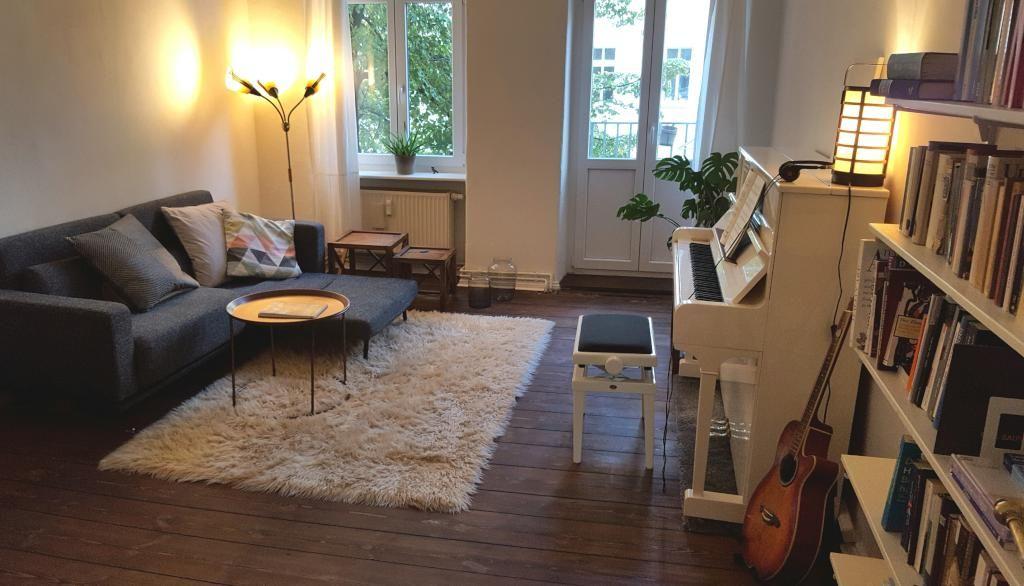 Ein sehr gemütliches gemeinsames Wohnzimmer in der WG! Ein Ort des Zusammenkommens! #ideen #gemeinsamwohnen #wg
