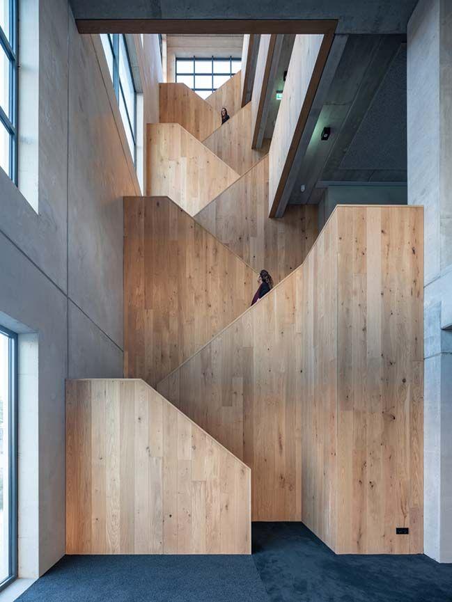 MVRDV complete a creative industries office block in Amsterdam