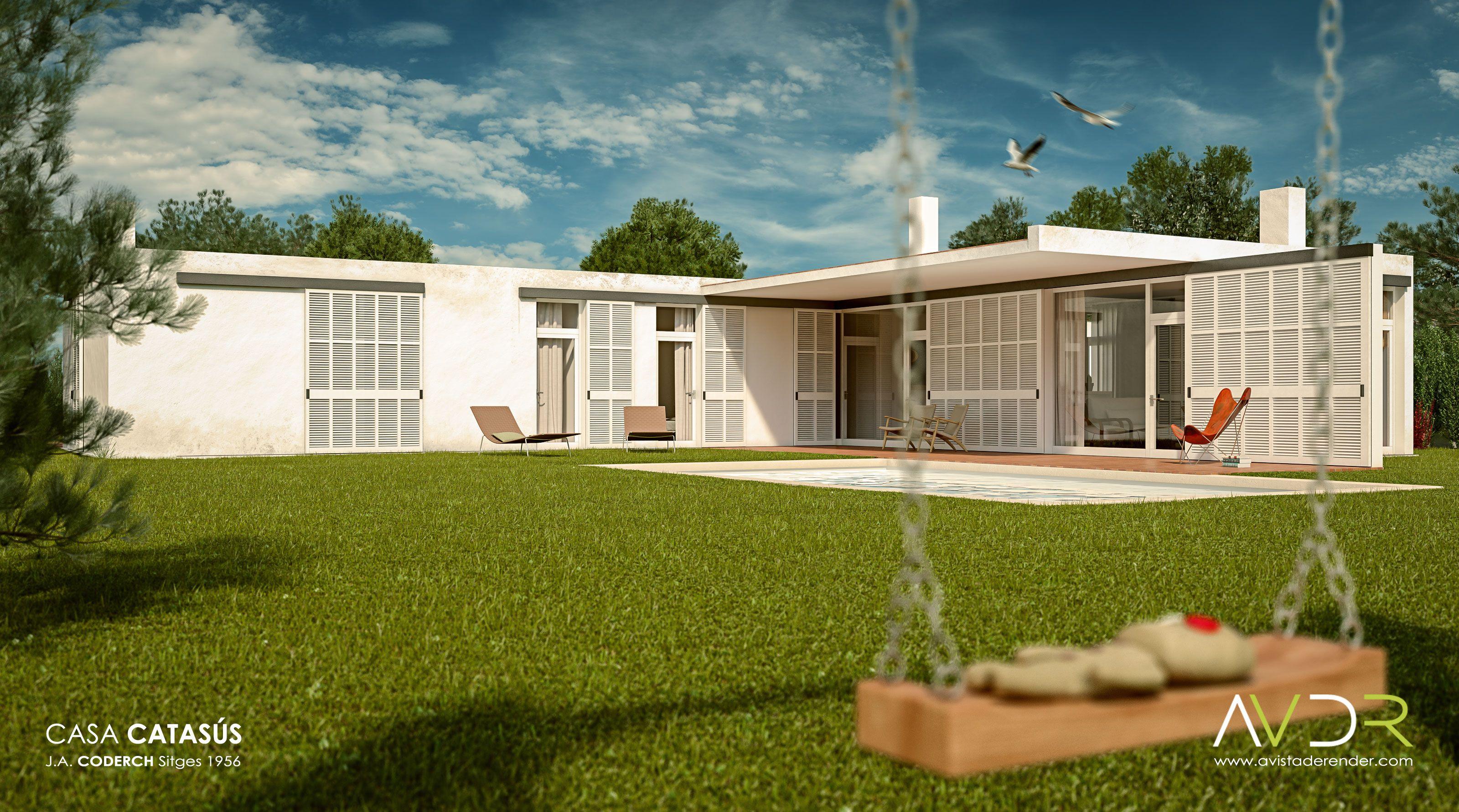 Render de la Casa Catas s Arquitecto Jos